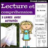 3 livres de lecture avec activités de compréhension - La Rentrée (À l'école)