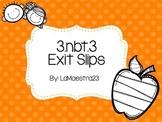 3.nbt.3 exit slips