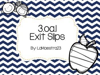 3.oa.1 exit slips