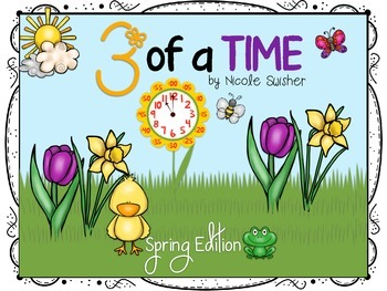 3 of a TIME!!! Finding 3 Ways to Say the Time Card Game