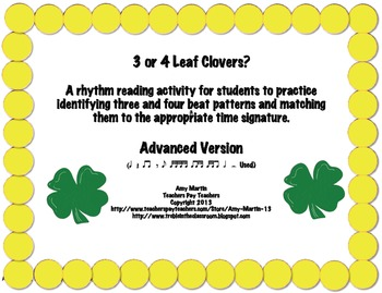 3 or 4 Leaf Clovers: Advanced Edition