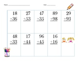 3 pack of Addition with Regrouping
