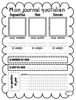 3 pack of Daily Log Journals for Bell Ringer and Routines