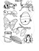 Insect worksheets-Free