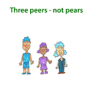 Student peers: Cartoon clip art