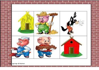 3 pigs bingo