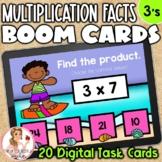 3's Multiplication Facts BOOM Cards | Digital Task Cards
