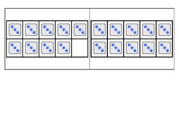 3's Subitizing Multiplication Flashcards
