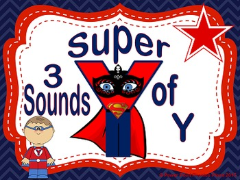 3 sounds of Y Power Point and Printables