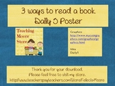 3 ways to read a book - Daily 5