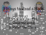 3 ways to read a book Superheroes