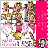 3 Wishes clip art - Genie - COMBO PACK - Melonheadz clipart