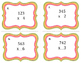 3 x 1 Digit Multiplication Task Cards