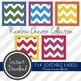 "3"" x 4"" EDITABLE PRINTABLE Labels - Rainbow Chevron Collection"