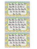 3 x 5 Handwriting Desk Cards {Basic Print}