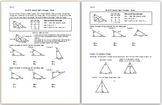 30-60-90 Special Right Triangles - Notes