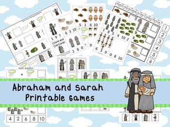 30 Abraham and Sarah themed Printable Games and Activities. Christian Studies.