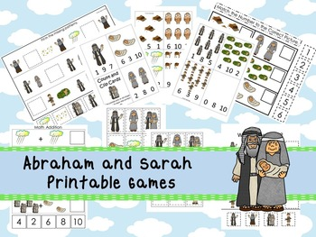 30 Abraham and Sarah themed Printable Games and Activities