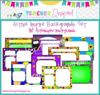 30 ActivInspire Backgrounds