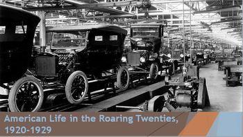 30. American Life in the Roaring Twenties, 1920-1929