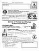 30 - An Era of Protest & Change - Scaffold/Guided Notes (Blank and Filled-In)