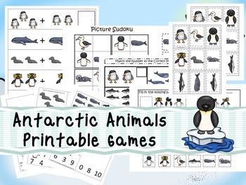 30 Antarctic Animals Games Download. Games and Activities