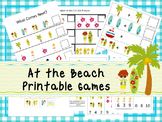30 At the Beach Games Download. Games and Activities in PD