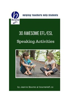 30 Awesome Speaking Activities