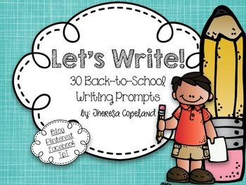 30 Back-to-School Writing Prompts