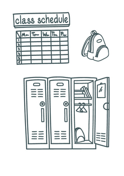 30 Back to school coloring pages