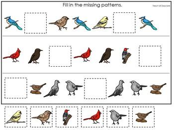 30 Birds Preschool Learning Games Download. ZIP file.
