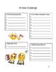 30 Book Challenge Book Log (Emoji)