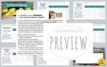 30 Book Challenge Slideshow PDF's