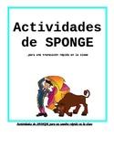 30 Brain Gym/SPONGE activities
