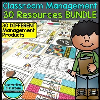 CLASSROOM MANAGEMENT BUNDLE 30 RESOURCES