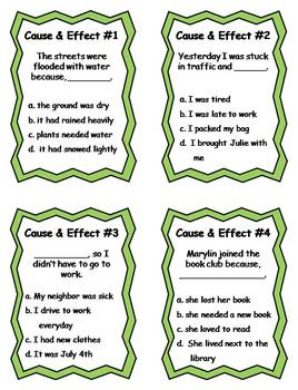 30 Cause and Effect Literacy Activities