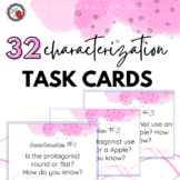 30 Characterization Task Cards for ANY Novel or Short Story