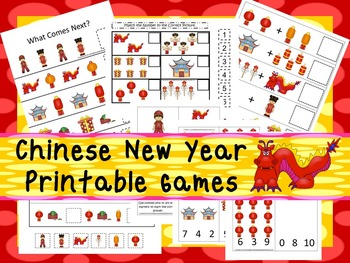30 Chinese New Year Games Download. Games and Activities in PDF files.