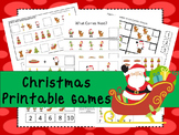30 Christmas Games Download. Games and Activities in PDF files.