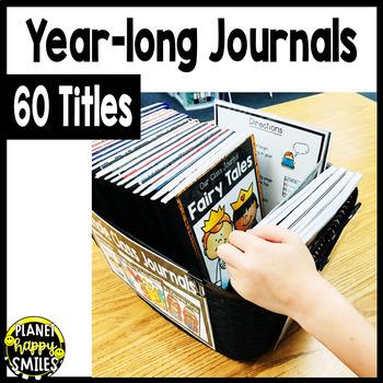 30 Class Writing Journals