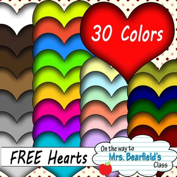 30 Colorful Valentine's Day Hearts