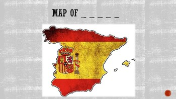 30 Colorful flashcards game about country flags and maps with key answers