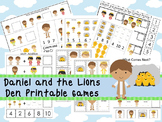 30 Daniel and the Lions Den themed Printable Games and Activities. Christian pre