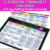30-Day Classroom Community Challenge {Build Classroom Community}