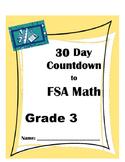 30 Day Countdown to Math FSA- Grade 3