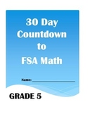 30 Day Countdown to Math FSA- Grade 5