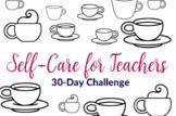 30-Day Self-Care Progress Art