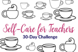 30-Day Self-Care Progress Art