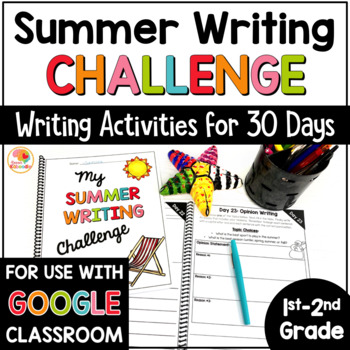 30-Day Summer Writing Challenge for 1st and 2nd Grade