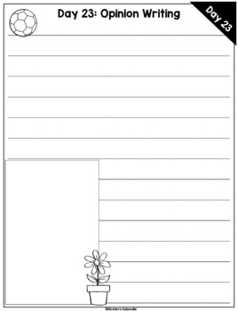 Summer Writing Challenge: 30 Days of Writing for 1st and 2nd Grade